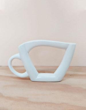 Tacita de té en cerámica decorativa