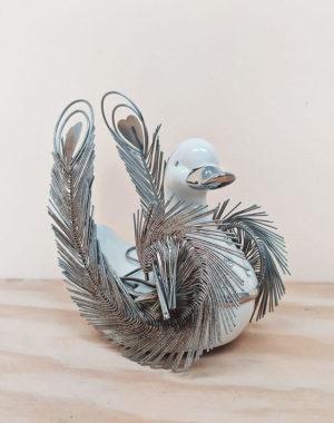 Pato de cerámica para adornar