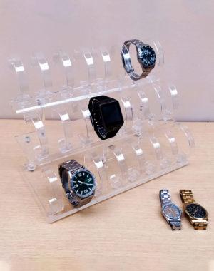 Acrílico organizador de relojes 24 servicios