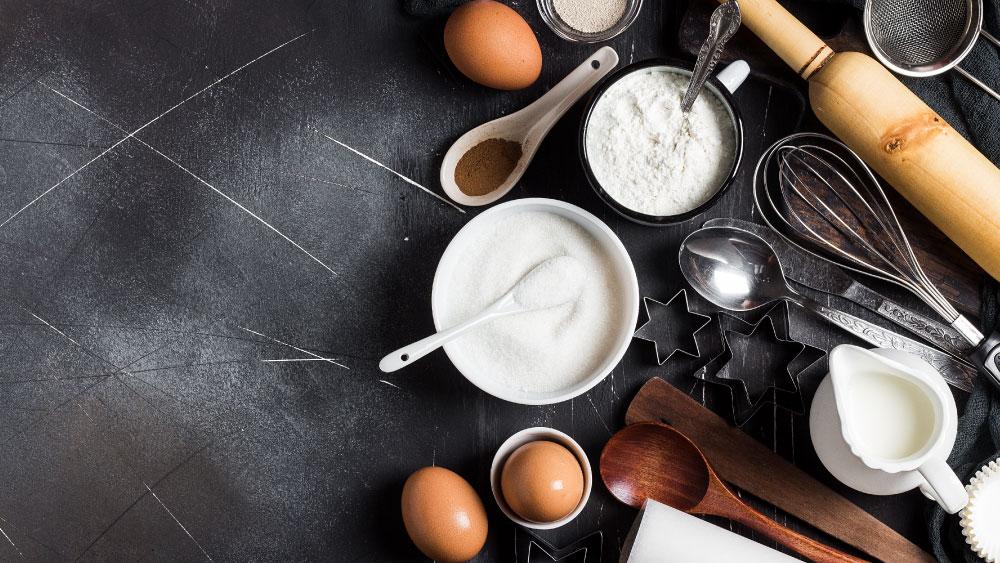 Utensilios de cocina para receta